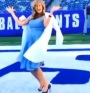 Kate Upton Does Victor Cruz's Salsa Dance In The Super Bowl End Zone [VIDEO]