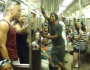 The Lion King Broadway Cast Sings 'Circle of Life' on NYC Subway