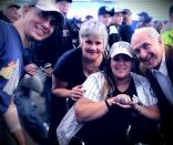 Darcy Lynn Gets to Wear Mr. Steiner's World Series Ring