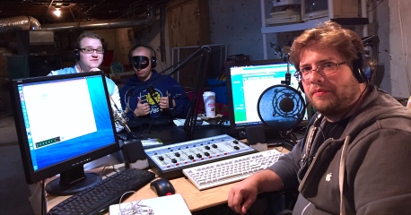 BJ, Monte, BIG Rich in The Geek Cave Studio