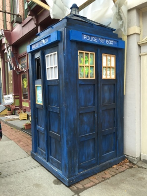 The TARDIS in Troy, NY