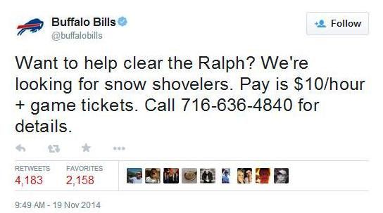Buffalo bills tickets schedule buffalo bills pay fans money and tickets to shovel out - Buffalo bills ticket office ...