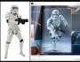 Picture of new Star Wars Episode VII Stormtrooper Armor! Check out This Side by Side!
