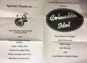 Columbia Idol 3